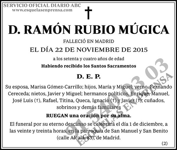 Ramón Rubio Múgica